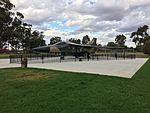 RAAF (A8-142) General Dynamics F111C gate guardian at RAAF Base Wagga (6).jpg
