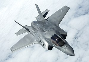 Future of the Royal Air Force - A Royal Air Force F-35B in flight.