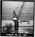 REMOVAL OF LEVEL 380 - Mobile Launcher One, Kennedy Space Center, Titusville, Brevard County, FL HAER FLA,5-TIVI.V,1-37.tif