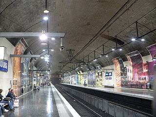 railway station in 5th arrondissement of Paris, France