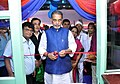 Radha Mohan Singh inaugurating the Organic Retail Store and Cafeteria managed by Sikkim State Co-operative Supply and Marketing Federation Ltd. (SIMFED), in New Delhi.jpg