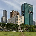 Raffles Hospital, Parkview Square and Andaz Hotel buildings in Singapore.jpg