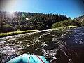 Rafting the Klamath River Osprey (Class III, Mile 0.6) (29608133856).jpg