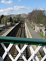 Railway track and bridge at Hope Station - geograph.org.uk - 1164604.jpg