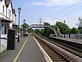 Railway track scene at Llanfair PG station - geograph.org.uk - 466793.jpg