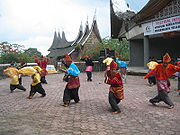 Randai performances with silek (silat) as one of the dance's components.