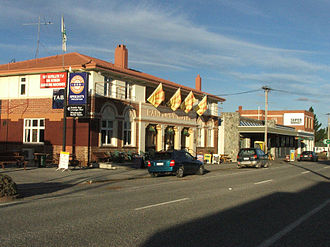 Ranfurly, New Zealand - The main street of Ranfurly