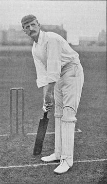 Ranji 1897 page 159 J. A. Dixon at the wicket.jpg