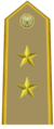 Rank insignia of tenente colonnello of the Italian Army (1945-1972).png