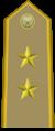 Rank insignia of tenente colonnello of the Italian Army (1945-1972).png