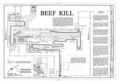 Rath Packing Company, Beef Killing Building, Sycamore Street between Elm and Eighteenth Streets, Waterloo, Black Hawk County, IA HAER IOWA,7-WATLO,4U- (sheet 1 of 2).png