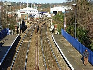 Reading West railway station - Image: Reading West railway station 1