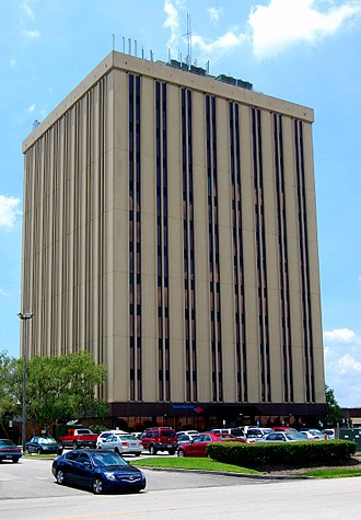 Arlington (Jacksonville) - Regency Tower is an office building located near the corner of Regency Square Boulevard and Monument Road.