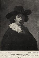 Rembrandt - Portrait of a Man with a Broad-brimmed Hat and Soft-pleated Collar.jpg