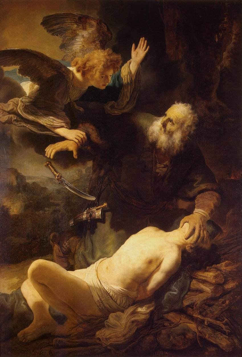 Rembrandt - Sacrifice of Isaac - WGA19096