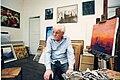 René Monteix à Hyères dans son atelier.jpg