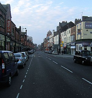 Mersey Beat - The original Mersey Beat office was at 81a Renshaw Street, Liverpool.  (green shop front on the right)