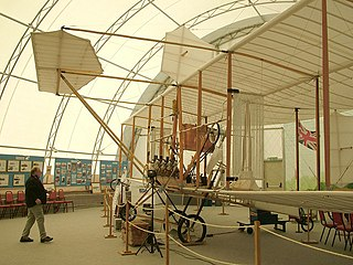 Farnborough Air Sciences Trust Aviation museum in Hampshire, England