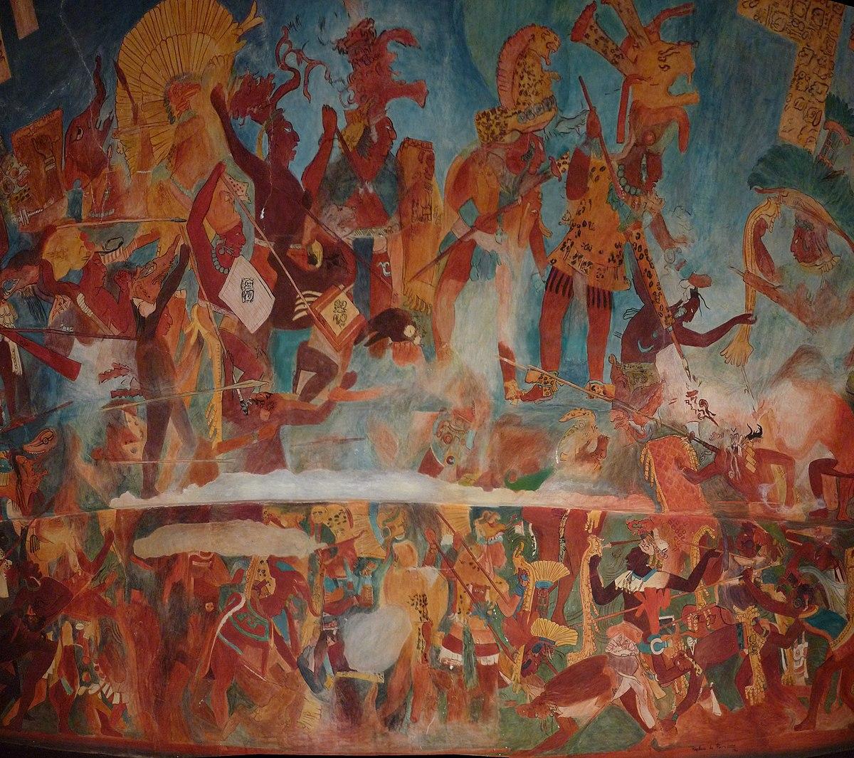Tikal calakmul wars wikipedia for Siege mural rabattable