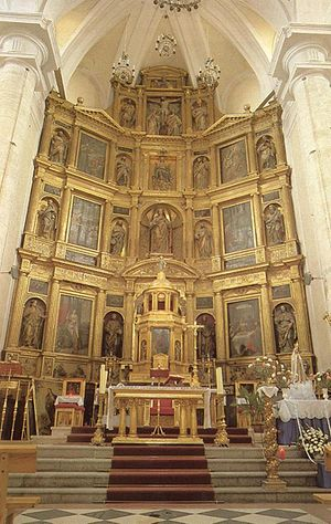 Getafe Cathedral - The Baroque high altar