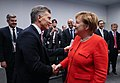 Reunión Bilateral Mauricio Macri y Angela Merkel - Día 2 (31194396567).jpg