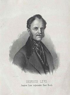 Heinrich LXVII, Prince Reuss Younger Line Prince Reuss Younger Line
