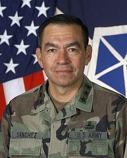 Ricardo Sanchez United States Army Lieutenant General