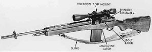 M21 Sniper Weapon System - M21 sniper rifle