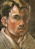 Self-portrait of American painter Rinaldo Cuneo
