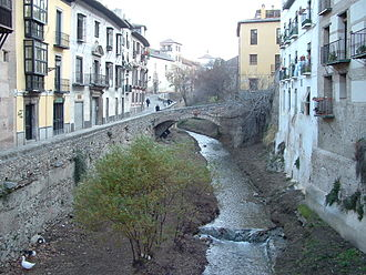 Darro (river) - River Darro
