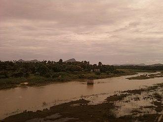 Gosthani River - Image: River Gosthani at Bhimasingi