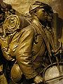 Robert Gould Shaw Memorial plaster original 05.jpg