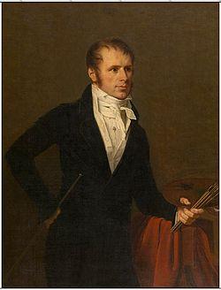 Robert Jacques François Faust Lefèvre - Portrait of the painter Jan Frans van Dael.jpg