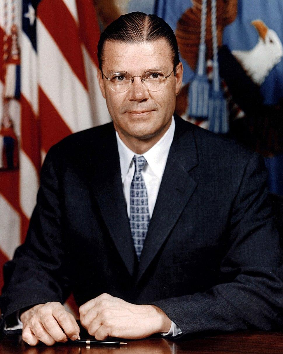 Robert McNamara official portrait