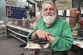 Robert Wyatt at Louth market 2013.jpg
