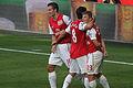 Robin Van Persie, Mikel Arteta & Andrey Arshavin 1 (6142288900).jpg