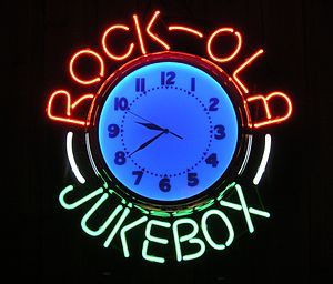 Rock-Ola - Rock-Ola neon sign.