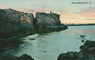 Star Island (New Hampshire) - East Rock c. 1912