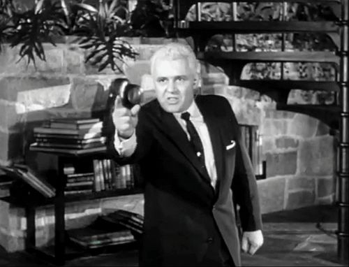 Steiger as film tycoon Stanley Shriner Hoff in The Big Knife (1955)