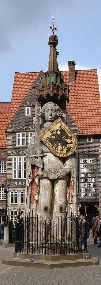 Bremen Roland - Image: Roland Bremen 01