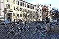 Rom, der Platz Piazza di Santa Maria Maggiore.JPG