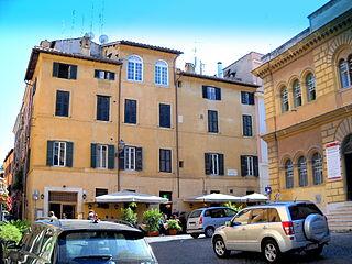 Rome, Trastevere Piazza della Scala