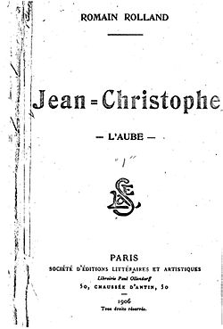 Image illustrative de l'article Jean-Christophe (roman)