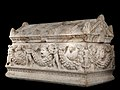Roman - Garland Sarcophagus - Walters 2329 - Three Quarter Left.jpg