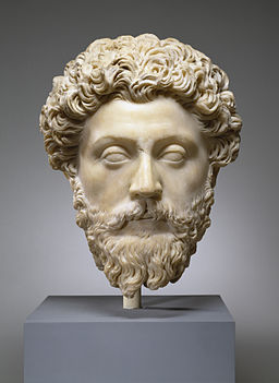 Roman - Portrait of the Emperor Marcus Aurelius - Walters 23215