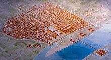 Colonia Agrippina (Cologne) Roman Cologne, reconstruction.JPG