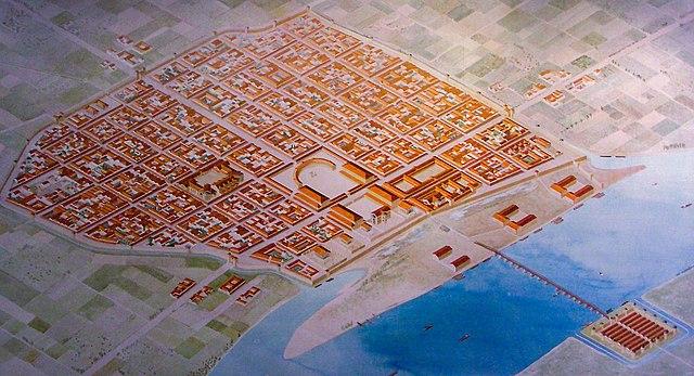 Колонии Клавдия алтаря Агриппины в III—IV веках н.э. Реконструкция