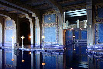 Camille Solon - Roman Pool (Hearst Castle)