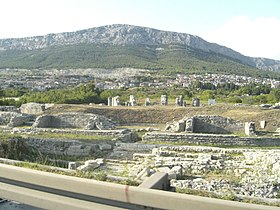 Roman theater in Salona, (now Solin, Croatia).jpg