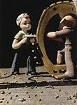 Rosie the Riveter in art detail, Tokio Kid Say - NARA - 533957 (cropped).jpg